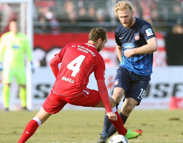 1 Fc Heidenheim 1846 E V Testspiel Gegen Die Würzburger Kickers
